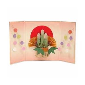 屏風飾り 手作りセット 門松 【在庫なくなり次第 取扱い中止】|yumegazai