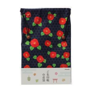 ご朱印帳巾着袋 つばき|yumegazai