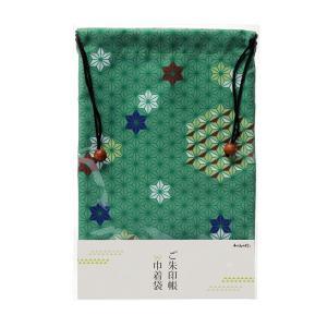 ご朱印帳巾着袋 麻の葉|yumegazai