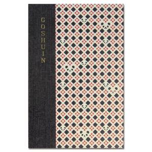 【御朱印帳】 集印帳 (特大) 蛇腹 komon+ コモンプラス パンダ格子|yumegazai