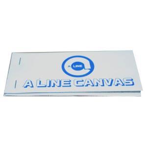 A-LINE CANVASの見本 本体サイズ:約15cm×7.5cm 内容:A・AD・AN・FD・B...