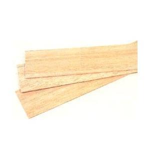 工作材料バルサ板 1.5mm厚 (10枚組) yumegazai