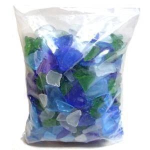 手作りキャンドルを作ってみよう♪ビーチグラスチップ 中 (1kg)|yumegazai
