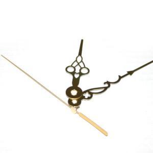 時計 キット時計針 Q-3 金色唐草三針|yumegazai