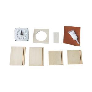 時計 キット手作り時計キット クロックキューブ アラーム付 (S11)|yumegazai
