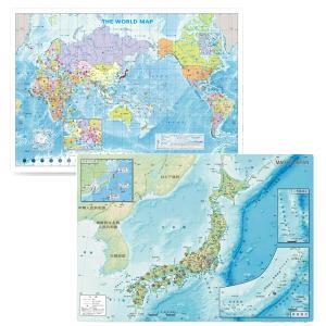 新版 地図学習 下敷きセット|yumegazai