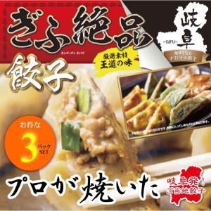 ぎふ絶品餃子 お得!10個入り(180g)×3パックSET 岐阜 餃子 お取り寄せ 冷凍|yumegyoza