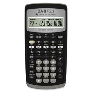 Texas Instruments BA II Plus Financial Calculator [輸入品]|yumehisa-store