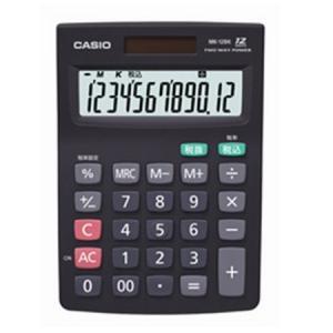 カシオ計算機  電卓  MK-12BK-N|yumehisa-store