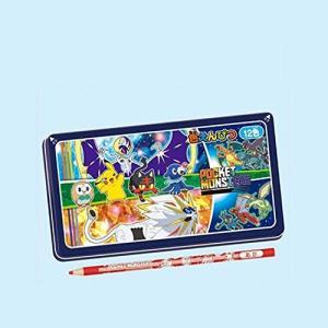 ショウワノート ポケットモンスター 色鉛筆 12色 TAG-240728001 4901772240198|yumehisa-store