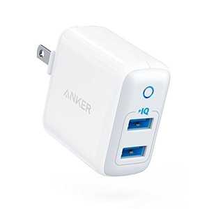 Anker PowerPort II - 2 PowerIQ (24W 2ポート USB急速充電器)...