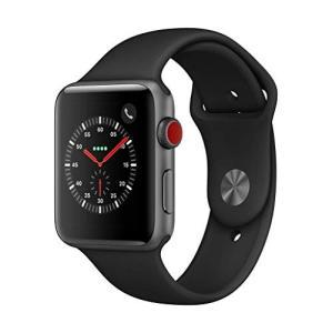 AppleWatch Series3(GPS+Cellularモデル)- 42mmスペースグレイアル...