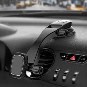 Miracase マグネット車載ホルダー 超強力磁気 スマホ タブレット 4-10.5インチに適用 ...