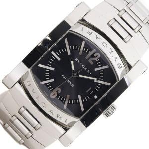 ブルガリ 時計 アショーマ AA48S グレーダイアル バーインデックス ステンレススチール オートマ メンズ デイト メンズウォッチ BVLGARI|yumeichiba-premium