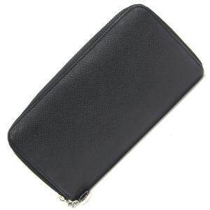 98709ebfdc27 ブルガリ ラウンドファスナー長財布 クラシコ 20886 ブラック レザー 中古 ロングウォレット 黒 革 BVLGARI