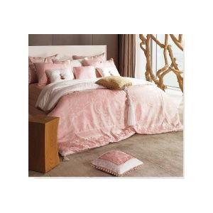 ■ゴージャスでおしゃれなヨーロピアン調のピンク寝具カバーセット ■ご愛用のベッドや布団に合わせてお作...