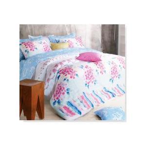 ■手描き風の花柄がたくさん描かれた明るい寝具セット ■ご愛用のベッドや布団に合わせてお作りするフルオ...