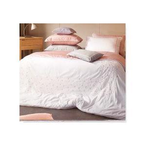 ■可愛くてでおしゃれな小花の刺繍入り寝具カバーセット ■ご愛用のベッドや布団に合わせてお作りするフル...