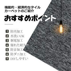 【ゾロ目の日クーポン争奪戦】タイルカーペット ...の詳細画像2