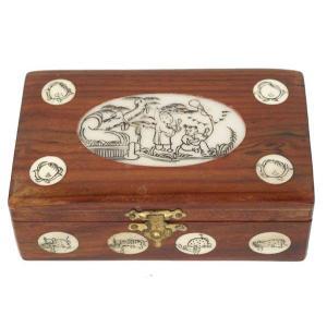 チャイナ風木製 宝石箱 yumekairo