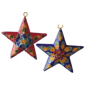 クリスマスツリー 星の飾り 七宝焼き(大) yumekairo