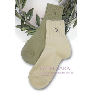 ソックス 婦人用 靴下 レディース 小豆島のオリーブ油を配合 オリーブサラ メール便 送料無料|yumekairo