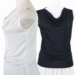 シルク ドレープネック セクシー タンクトップ 絹100% レディース 天然素材で肌に優しい 紫外線対策に! カラバリ4色|yumekairo|06
