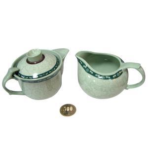茶壷と茶海[磁器製]|yumekairo