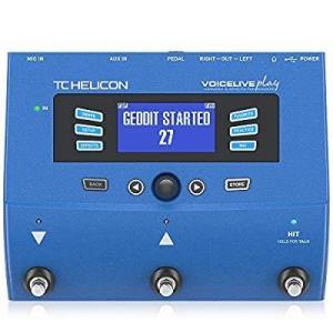 TC Helicon ボーカルエフェクター スタジオグレードマルチエフェクト ルーパー搭載 USBオーディオインターフェース VOICELIVE PLの画像