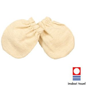 おでかけポポ ミトン 日本製【今治タオル】 オーガニックコットン KuSu organic baby|yumekoboshop