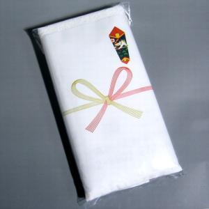 のし付き1本入れ加工 フェイスタオル用 ビニール袋使用 のしの印刷も無料で承ります。記念品や粗品としてお渡ししてみては?|yumekoboshop