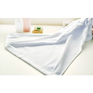 1000匁シャーリングバスタオル(120枚セット/1枚923円) 70×130cm 中国製 白|yumekoboshop