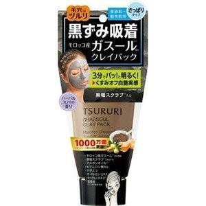 《BCLカンパニー》 ツルリ 黒ずみ吸着 うるおいガスールパック 150g|yumekurage
