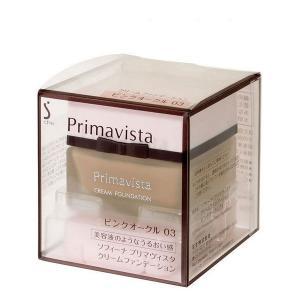 《花王》 ソフィーナ プリマヴィスタ クリームファンデーション ピンクオークル03 SPF15 PA++ 30g|yumekurage