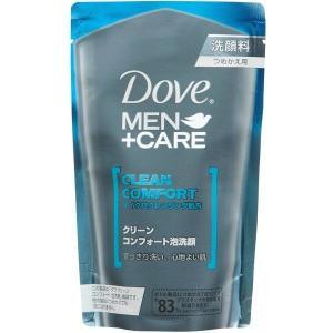 《ユニリーバ》 Dove MEN+CARE ダヴ メンプラスケア クリーンコンフォート泡洗顔  つめかえ用 (110mL) yumekurage