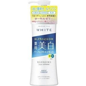 【医薬部外品】《コーセー》 モイスチュアマイルド ホワイト パーフェクトエッセンス 230mL (薬用美白エッセンスローション)|yumekurage