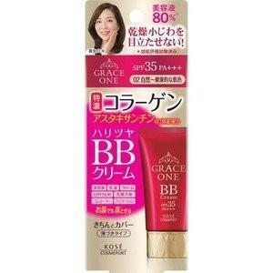 《コーセー》 グレイス ワン BBクリーム 02 自然〜健康的な肌色 50g yumekurage