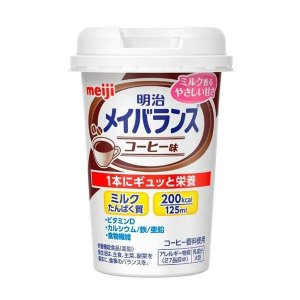 《明治》 明治 メイバランス Miniカップ コーヒー味 125mL|yumekurage