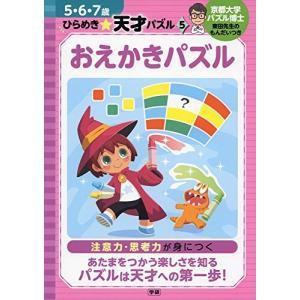 おえかきパズル (5・6・7歳 ひらめき☆天才パズル)|yumemirai-store