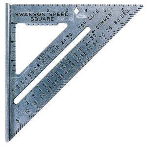 Swansonツールs0101?7-inch速度Squareレイアウトツール yumemirai-store