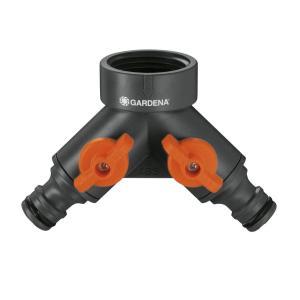 GARDENA(ガルデナ) 蛇口分岐コネクター:蛇口用の2つの器具を同時に連結 26.5 mm(G 3/4) 00938-20 yumemirai-store