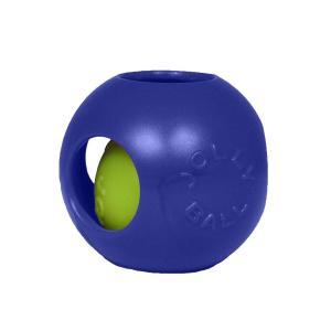 (ジョリーペッツ) Jolly Pets  ティーザー ジョリーボール おもちゃ 犬用 (6インチ(約15.2cm)) (ブルー) yumemirai-store