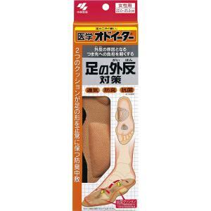 医学オドイーター 足の外反対策 インソール 女性用22cm~25cm 1足 yumemirai-store