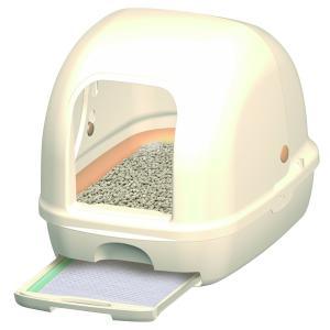 デオトイレ 1週間消臭・抗菌デオトイレ フード付き本体セット (アイボリー) yumemirai-store