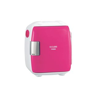 TWINBIRD 2電源式コンパクト電子保冷保温ボックス D-CUBE S ピンク HR-DB06P yumemirai-store