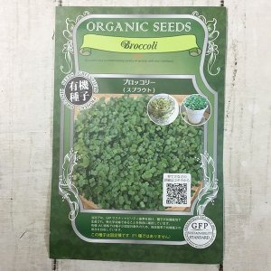 【有機種子】 ブロッコリー スプラウト グリーンフィールドプロジェクト|yumenetshop