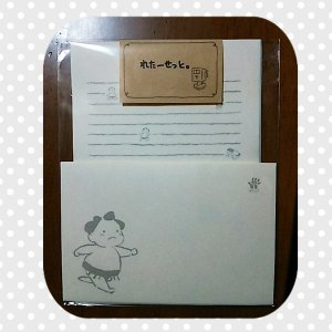お相撲ちゃん レターセット オリジナル かわいい 相撲グッズ yumenetshop