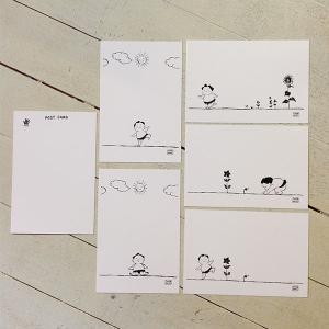 お相撲ちゃん 絵はがきセット 5枚1組 封筒 フォトスタンド1個のセット 相撲グッズ yumenetshop