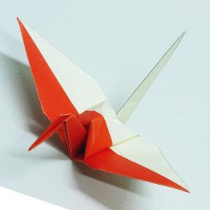 【ポスト便OK】 インドネシアの国旗をデザインしたおりづる折り紙です。 計50枚入り。 わかりやすく...