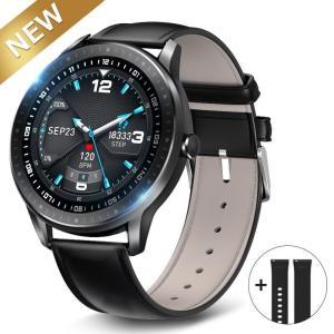 【最新Bluetooth5.0対応】 スマートウォッチ 大画面 トレーニング管理 IP67防水 Li...